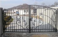 Forged gates and fences